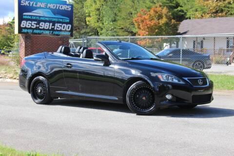 2011 Lexus IS 250C for sale at Skyline Motors in Louisville TN