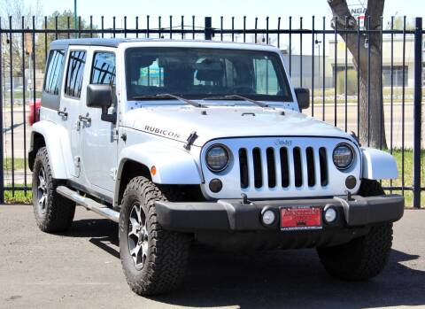 2012 Jeep Wrangler Unlimited for sale at Avanesyan Motors in Orem UT