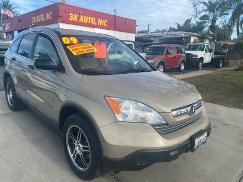 2009 Honda CR-V for sale at 3K Auto in Escondido CA
