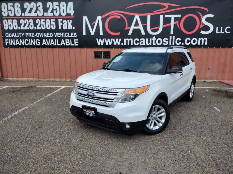 2015 Ford Explorer for sale at MC Autos LLC in Pharr TX