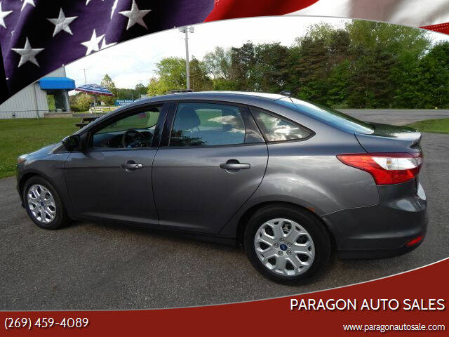 2012 Ford Focus for sale at PARAGON AUTO SALES in Portage MI