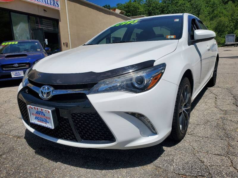 2016 Toyota Camry for sale at Auto Wholesalers Of Hooksett in Hooksett NH