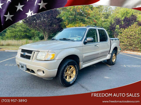 2005 Ford Explorer Sport Trac for sale at Freedom Auto Sales in Chantilly VA