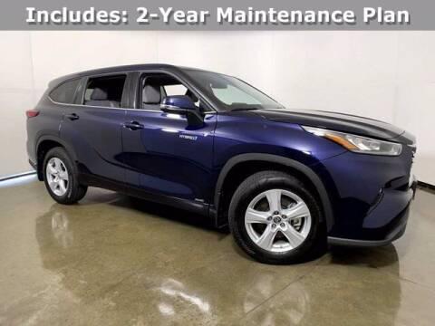2020 Toyota Highlander Hybrid for sale at Smart Budget Cars in Madison WI