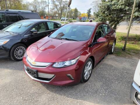 2017 Chevrolet Volt for sale at Clare Auto Sales, Inc. in Clare MI