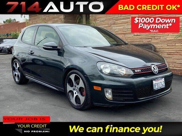 2013 Volkswagen GTI for sale at 714 Auto in Orange CA