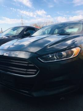 2015 Ford Fusion for sale at Thompson Auto Diagnostics / Auto Sales Division in Mishawaka IN