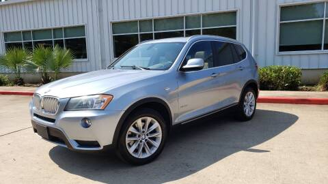 2013 BMW X3 for sale at Houston Auto Preowned in Houston TX