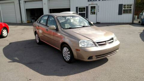 2007 Suzuki Forenza for sale at DISCOUNT AUTO SALES in Johnson City TN