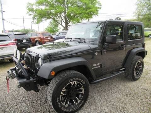 2010 Jeep Wrangler for sale at Dallas Auto Mart in Dallas GA
