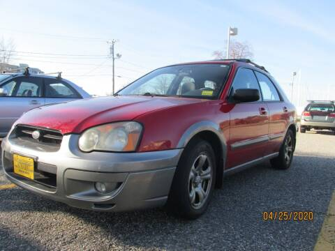 2004 Subaru Impreza for sale at NORTHEAST IMPORTS LLC in South Portland ME
