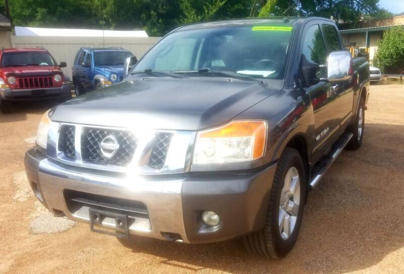 2010 Nissan Titan for sale at Dorsey Auto Sales in Tyler TX