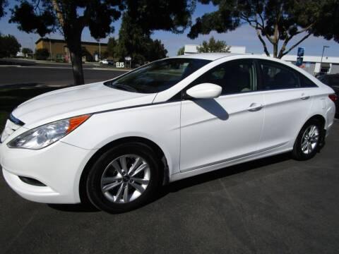 2012 Hyundai Sonata for sale at KM MOTOR CARS in Modesto CA
