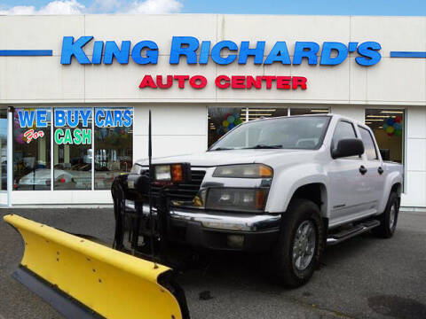 2004 GMC Canyon for sale at KING RICHARDS AUTO CENTER in East Providence RI