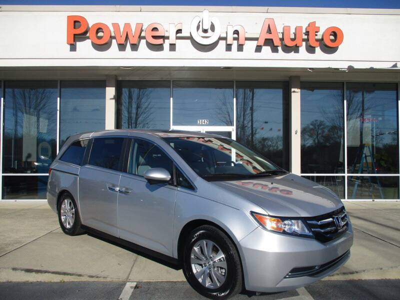 2015 Honda Odyssey for sale at Power On Auto LLC in Monroe NC