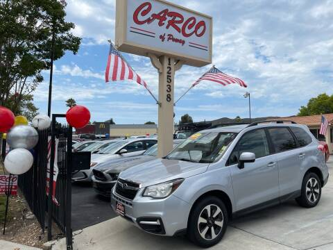 2017 Subaru Forester for sale at CARCO SALES & FINANCE - CARCO OF POWAY in Poway CA