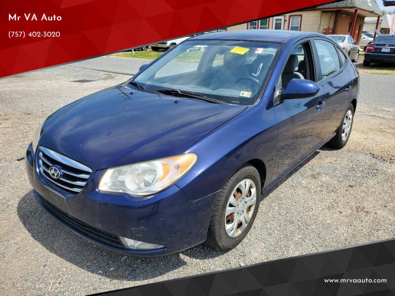 2010 Hyundai Elantra for sale at Mr VA Auto in Chesapeake VA