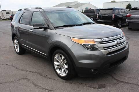2014 Ford Explorer for sale at LJ Motors in Jackson MI