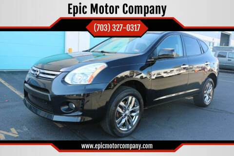 2010 Nissan Rogue for sale at Epic Motor Company in Chantilly VA