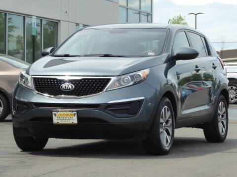 2014 Kia Sportage for sale at Loudoun Used Cars - LOUDOUN MOTOR CARS in Chantilly VA