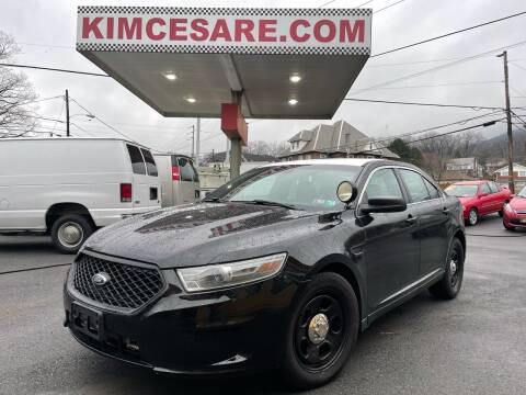2013 Ford Taurus for sale at KIM CESARE AUTO SALES in Pen Argyl PA