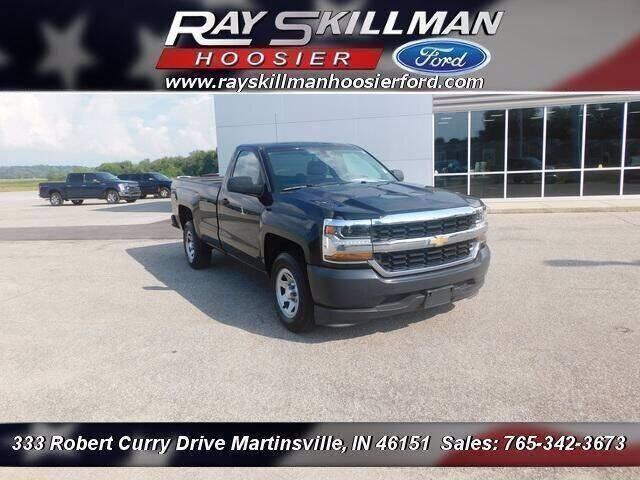2018 Chevrolet Silverado 1500 for sale at Ray Skillman Hoosier Ford in Martinsville IN