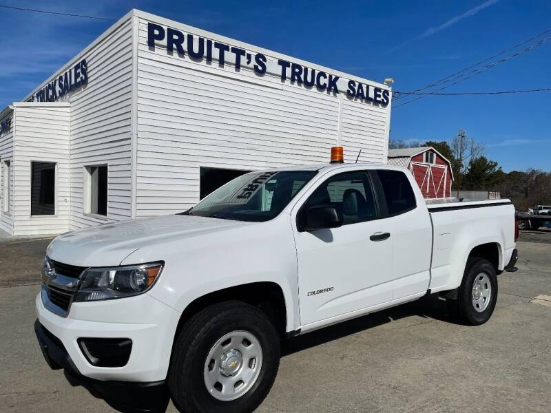 2018 Chevrolet Colorado for sale at Pruitt's Truck Sales in Marietta GA