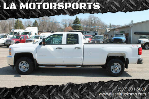 2015 Chevrolet Silverado 2500HD for sale at LA MOTORSPORTS in Windom MN