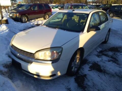 2005 Chevrolet Malibu for sale at Continental Auto Sales in White Bear Lake MN