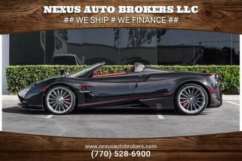 2017 Pagani Huayra Roadster for sale at Nexus Auto Brokers LLC in Marietta GA