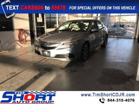 2015 Acura TLX for sale at Tim Short Chrysler in Morehead KY