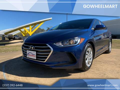 2017 Hyundai Elantra for sale at GOWHEELMART in Available In LA