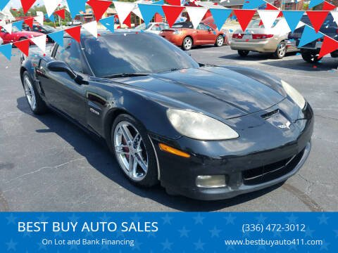 2007 Chevrolet Corvette for sale at BEST BUY AUTO SALES in Thomasville NC