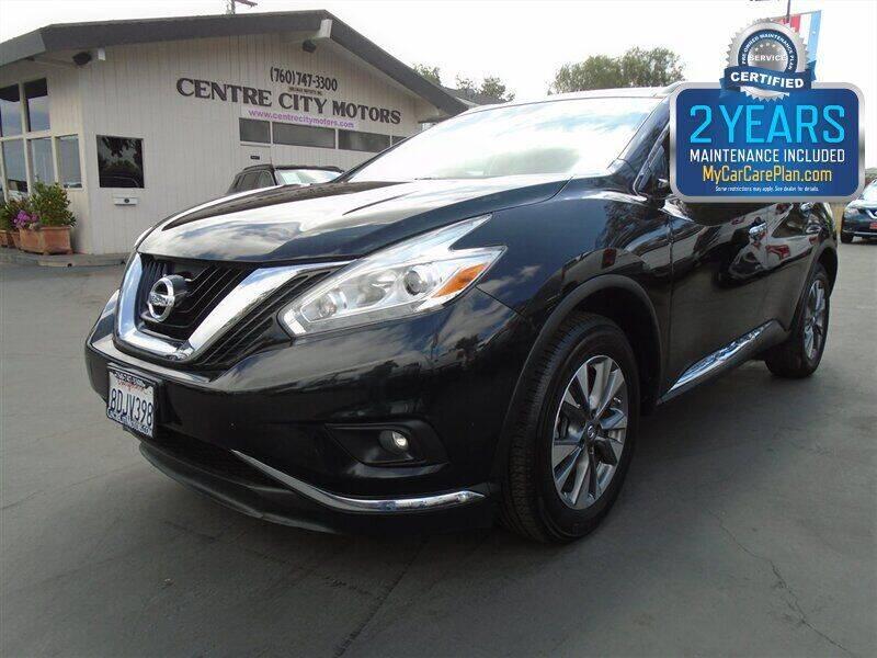 2017 Nissan Murano for sale at Centre City Motors in Escondido CA