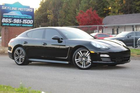 2012 Porsche Panamera for sale at Skyline Motors in Louisville TN