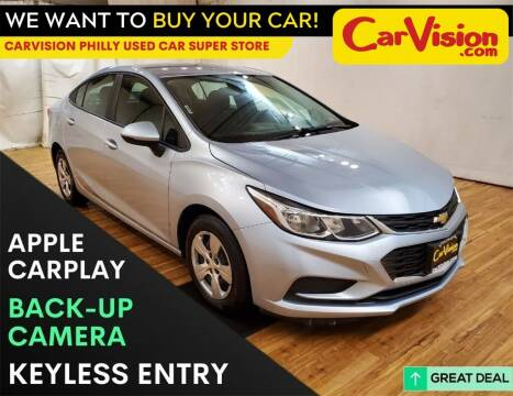 2017 Chevrolet Cruze for sale at Car Vision Mitsubishi Norristown - Car Vision Philly Used Car SuperStore in Philadelphia PA