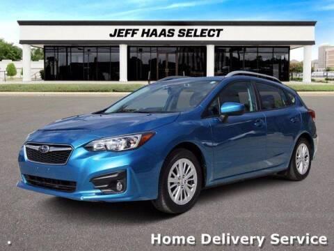 2018 Subaru Impreza for sale at JEFF HAAS MAZDA in Houston TX