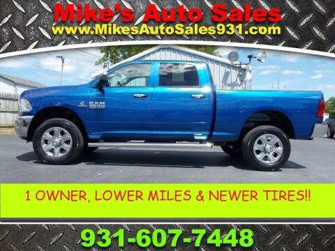 2018 RAM Ram Pickup 2500 for sale at Mike's Auto Sales in Shelbyville TN