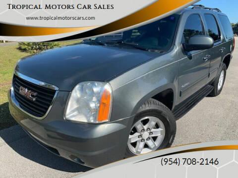 2011 GMC Yukon for sale at Tropical Motors Car Sales in Deerfield Beach FL
