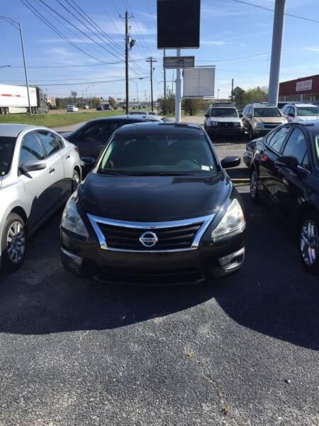 2013 Nissan Altima for sale at Dependable Auto Sales in Montgomery AL
