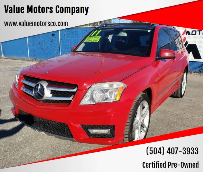 2011 Mercedes-Benz GLK for sale at Value Motors Company in Marrero LA
