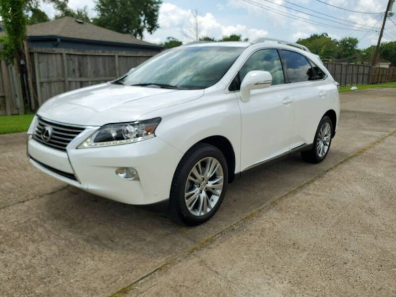 2014 Lexus RX 350 for sale at MOTORSPORTS IMPORTS in Houston TX