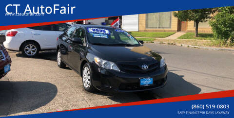 2012 Toyota Corolla for sale at CT AutoFair in West Hartford CT
