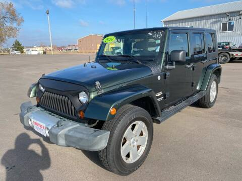 2010 Jeep Wrangler Unlimited for sale at De Anda Auto Sales in South Sioux City NE
