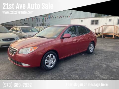 2009 Hyundai Elantra for sale at 21st Ave Auto Sale in Paterson NJ