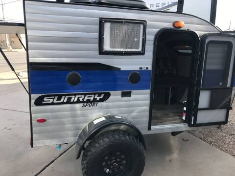 2020 SUNSET PARK & RV SUNRAY 109 for sale at ROGERS RV in Burnet TX