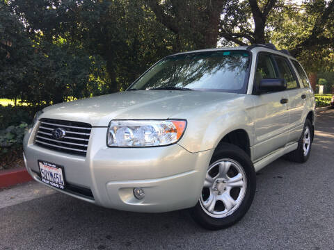 2006 Subaru Forester for sale at Valley Coach Co Sales & Lsng in Van Nuys CA
