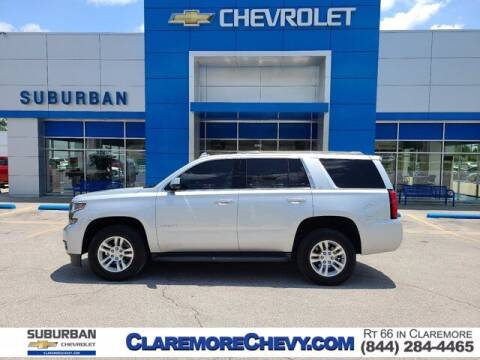 2017 Chevrolet Tahoe for sale at Suburban Chevrolet in Claremore OK