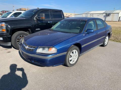 2005 Chevrolet Impala for sale at BULL MOTOR COMPANY in Wynne AR