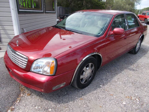 2004 Cadillac DeVille for sale at LANCASTER'S AUTO SALES INC in Fruitland Park FL